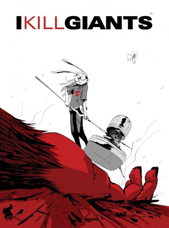 I Kill Giants by Joe Kelly ills. by J. M. Ken Niimura